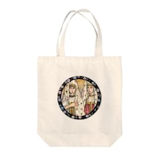 上/うえのトヴェリの女たち Tote bags