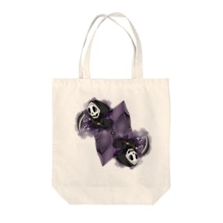 フェイクディガー「闇の黒い宝石」 Tote bags