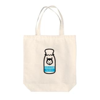 牛乳ビンくん Tote bags