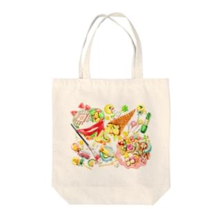 「飴と小物」 Tote bags