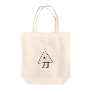 しゅーのさんかくん Tote bags