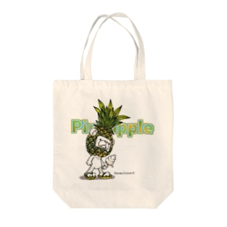 Pineappleシュガ〜 Tote bags