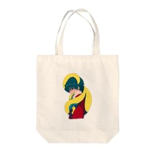 蛸Ⅲ Tote bags