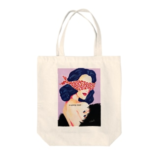 in a party mood Tote bags