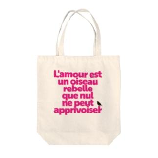 ハバネラ Tote bags