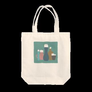 anco.の壺とねこ Tote bags