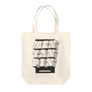 MENTANPIN2(DB) Tote bags