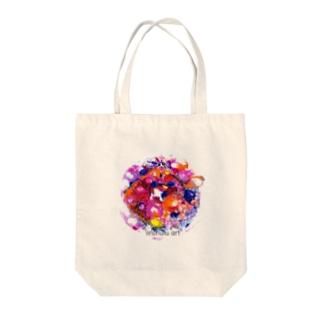 リノフル/ 惑星 Tote bags
