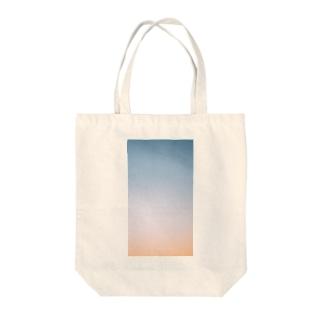 夕映えの Tote bags