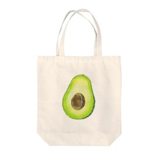 avocado Tote bags