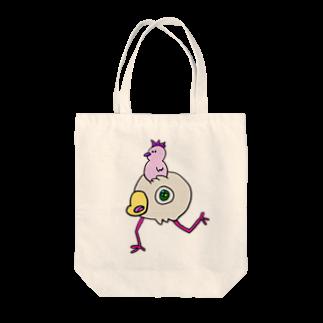 世紀末事件ののりものとほんたい Tote bags