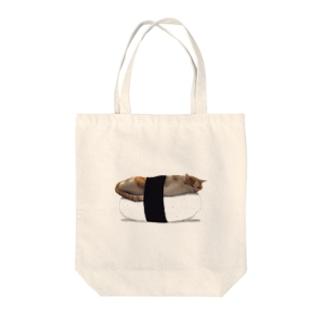 ももの握り Tote bags