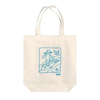 surfcat Tote bags