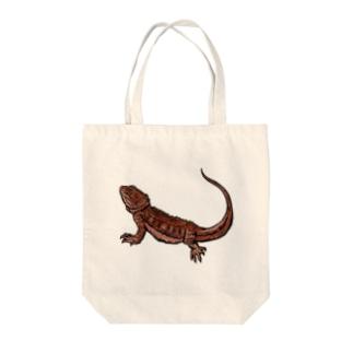 フトアゴヒゲトカゲグッズ Tote Bag