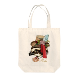 ウズラのRuku_アップ Tote bags