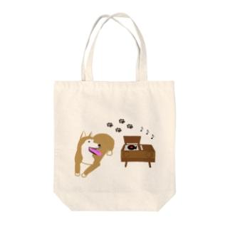 ビクターっぽい犬 Tote bags
