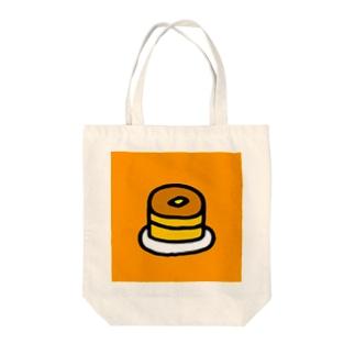 れいのぱんけーき Tote bags