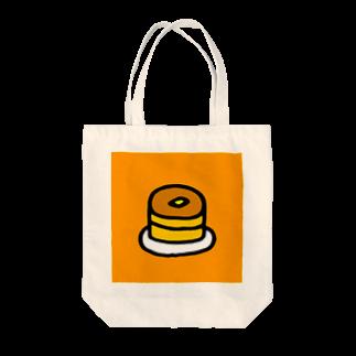 FUKUFUKU=:DESIGNのれいのぱんけーき Tote bags