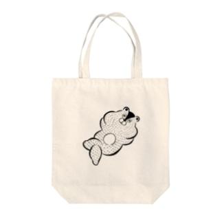 ボケ〜 Tote bags