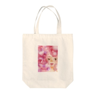 mihoret mode 葡萄色 Tote bags