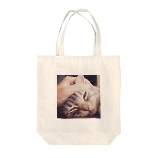 うっとり なごむん シリーズ Tote bags