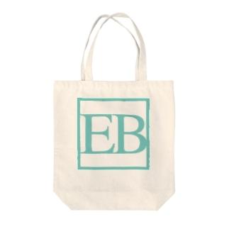 四角いEB Tote bags