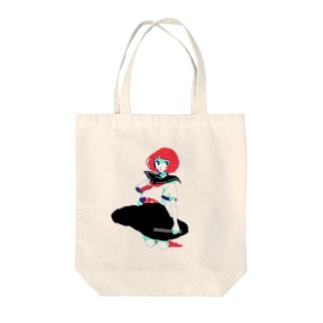 サブカル風 Tote bags