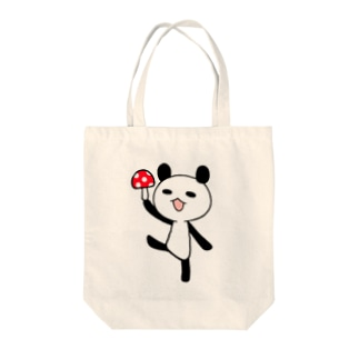きのこパンダ Tote bags
