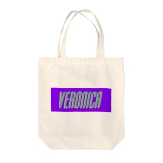 VERONICA ロゴカラー Tote bags