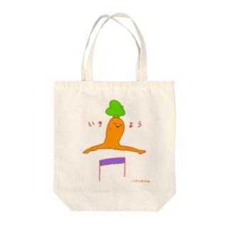 いきよう Tote bags