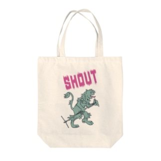SHOUT Tote bags