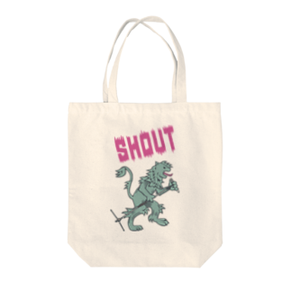stickysyrupsのSHOUT Tote bags