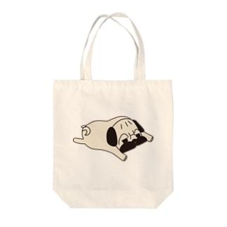パグ顎から足まで・・・よりべったり Tote bags