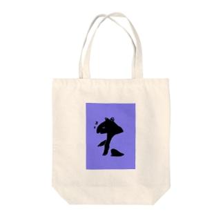 紫バク Tote bags