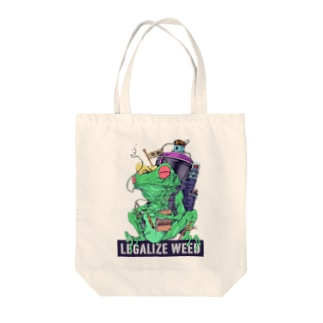 LEGALIZE IT FROG (SH11NA WORKS) Tote bags