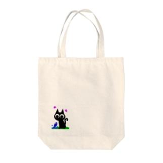 魚の夢CH〜ネコトサカナ〜 Tote bags