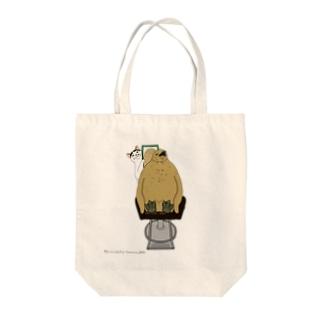 猫の床屋 Tote bags