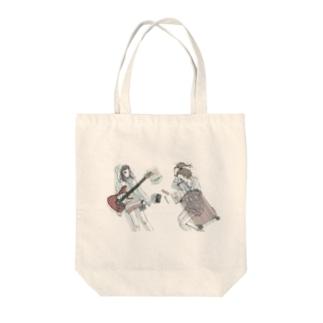 泉まくら&ラブリーサマーちゃん  Tote bags