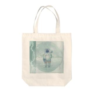 SASAKURE 花擁 Tote bags