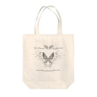 my world. Tote bags