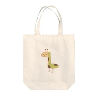 簡易的なキリン Tote bags