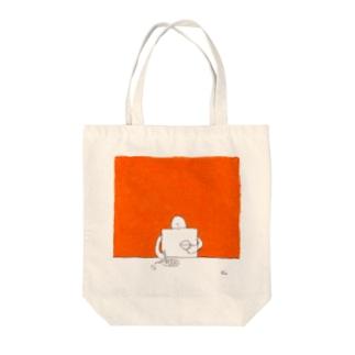 ポロリ Tote bags