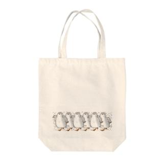 ヒメウズライン Tote bags