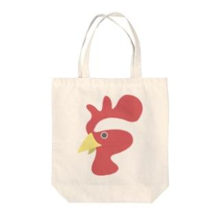 にわとり酉 Tote bags