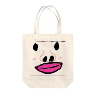 田中カルロス成美ジェネレーション君 Tote bags