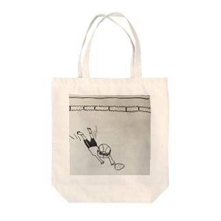 落し物を取りに Tote bags