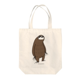 クールアニマル ナマケモノのトートバッグ Tote bags