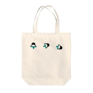 オスモウペンギン Tote bags