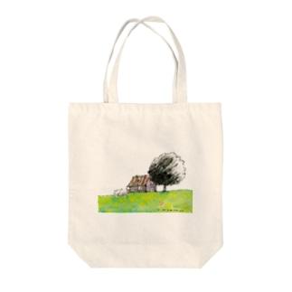 一軒家 Tote bags