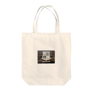 白ねこグッズ Tote bags